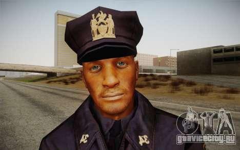 Policeman from Alone in the Dark 5 для GTA San Andreas третий скриншот