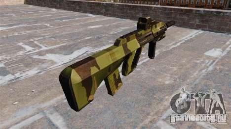 Автомат Steyr AUG-A3 Woodland для GTA 4 второй скриншот