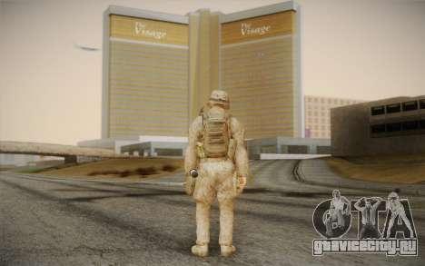 Солдат из Black Ops 2 для GTA San Andreas второй скриншот