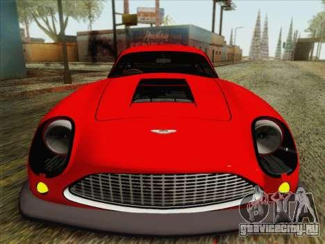 Aston Martin DB4 Zagato 1960 для GTA San Andreas вид сзади