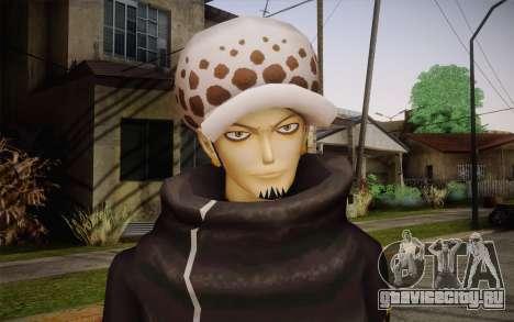 One Piece Trafalgar Law для GTA San Andreas третий скриншот