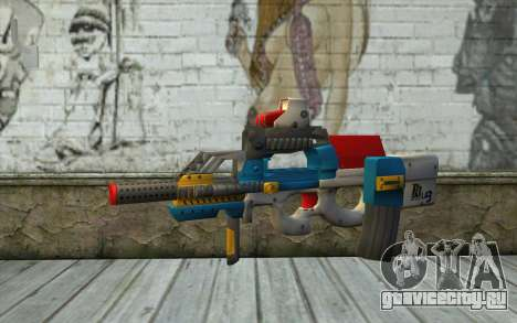 P90 MC Latin 3 from Point Blank для GTA San Andreas