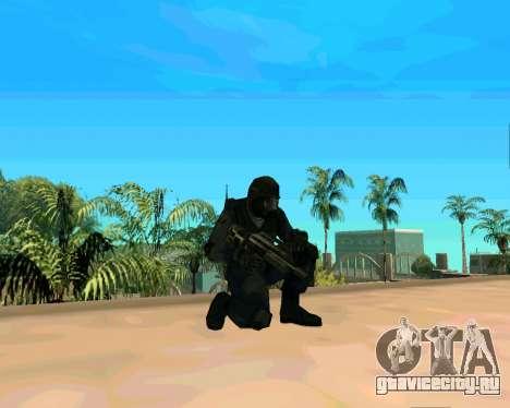 Jackhammer из Max Payne для GTA San Andreas четвёртый скриншот