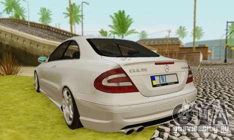 Mercedes-Benz CLK55 AMG 2003 для GTA San Andreas колёса