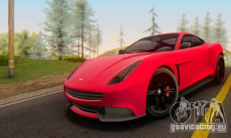 Dewbauchee Massacro 1.0 для GTA San Andreas