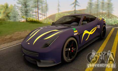 Dewbauchee Massacro 1.0 для GTA San Andreas вид справа