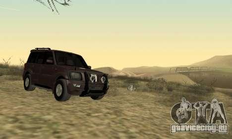 Mahindra Scorpio для GTA San Andreas вид слева