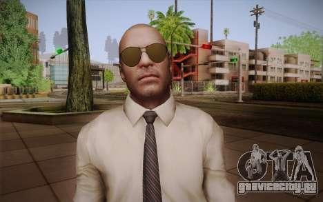 Special Agent Jason Hudson из CoD: Black Ops для GTA San Andreas третий скриншот
