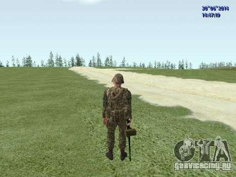 Боец ВС РФ для GTA San Andreas восьмой скриншот