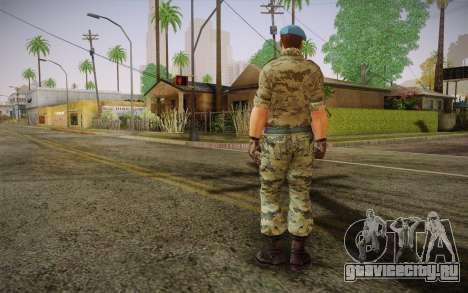 Капрал ВДВ для GTA San Andreas второй скриншот