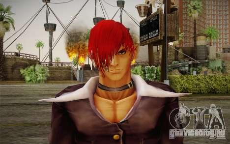 Iori Yagami для GTA San Andreas третий скриншот