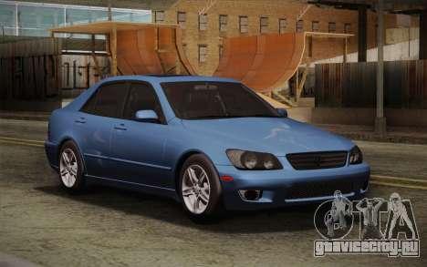 Lexus IS300 2003 для GTA San Andreas