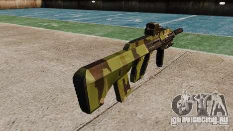 Автомат Steyr AUG-A3 Optic Woodland для GTA 4 второй скриншот