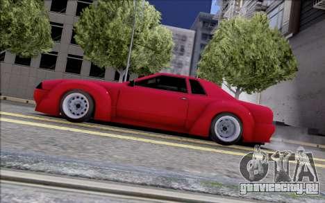 Elegy Rocket Bunny для GTA San Andreas вид слева