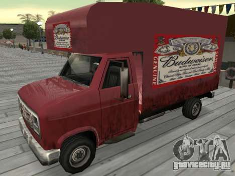 Новая реклама на автомобилях для GTA San Andreas одинадцатый скриншот