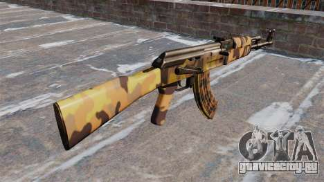 Автомат АК-47 Fall для GTA 4 второй скриншот