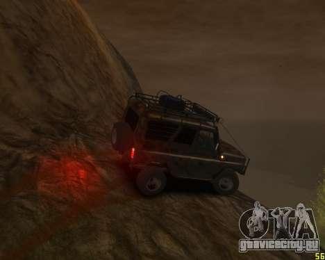 УАЗ 31514 Экспедиционный для GTA 4 вид сзади слева