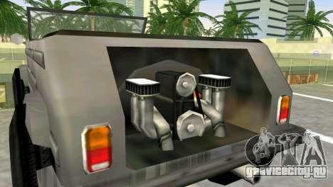 Volkswagen Kuebelwagen для GTA Vice City вид сзади слева