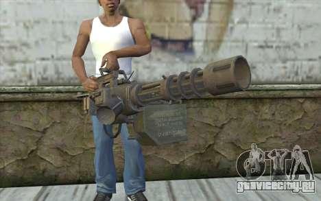 Миниган с магазином для GTA San Andreas