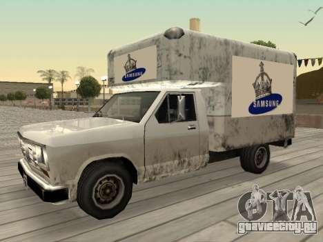 Новая реклама на автомобилях для GTA San Andreas десятый скриншот