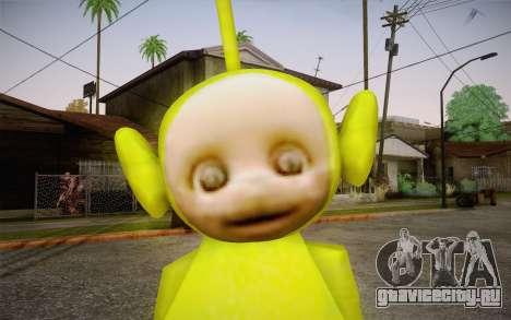 Диспи (Телепузики) для GTA San Andreas третий скриншот