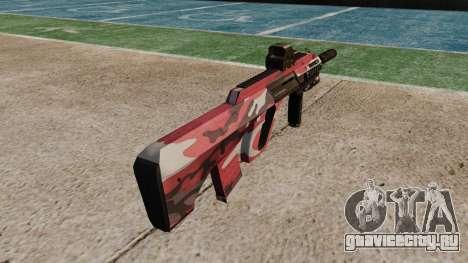 Автомат Steyr AUG-A3 Optic Red urban для GTA 4 второй скриншот