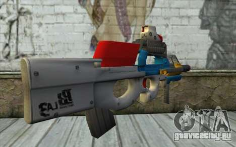 P90 MC Latin 3 from Point Blank для GTA San Andreas второй скриншот