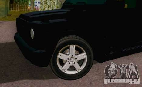 Mercedes-Benz G500 Limousine для GTA San Andreas вид справа