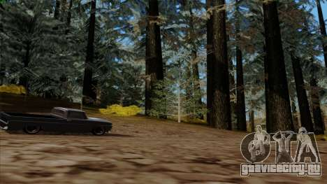Густой лес v2 для GTA San Andreas пятый скриншот