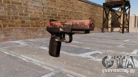 Пистолет FN Five-seveN Red tiger для GTA 4