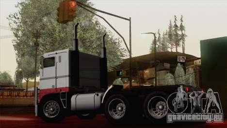 Hauler from GTA 5 для GTA San Andreas вид слева