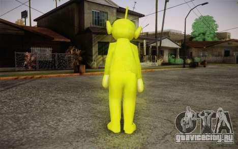 Диспи (Телепузики) для GTA San Andreas второй скриншот