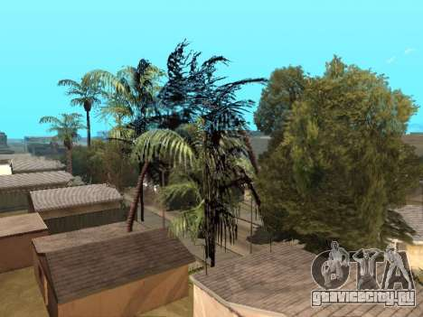 Джунгли на ул. Ацтек для GTA San Andreas