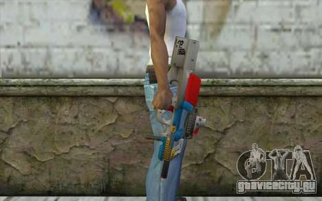 P90 MC Latin 3 from Point Blank для GTA San Andreas третий скриншот