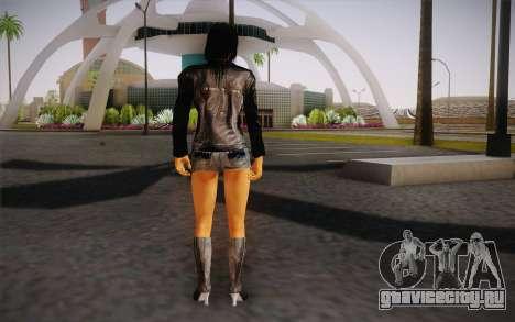 Jill Biker для GTA San Andreas второй скриншот