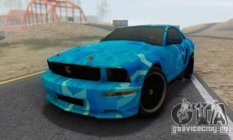 Ford Mustang Shelby Blue Star Terlingua для GTA San Andreas