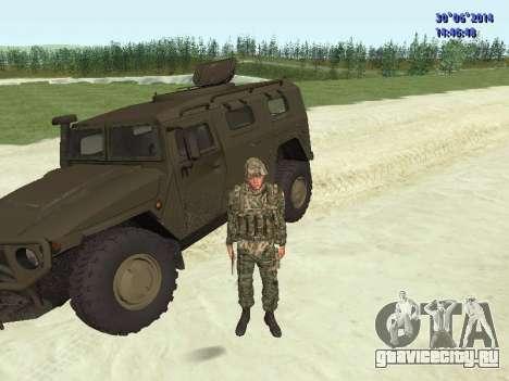 Боец ВС РФ для GTA San Andreas девятый скриншот