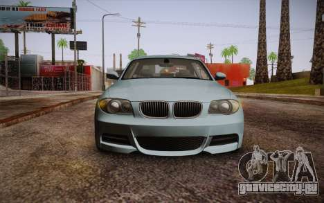 BMW 135i Limited Edition для GTA San Andreas вид сзади