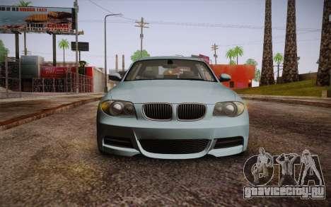 BMW 135i Limited Edition для GTA San Andreas вид сзади
