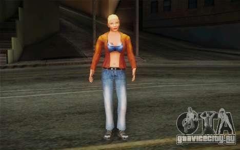 Woman Autoracer from FlatOut v1 для GTA San Andreas