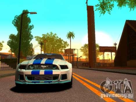 ENBSeries Realistic Beta v1.0 для GTA San Andreas третий скриншот