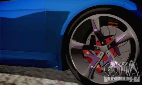 BMW M3 E92 SHDru Tuning для GTA San Andreas вид сзади слева
