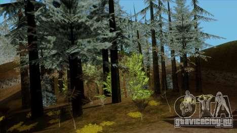 Густой лес v2 для GTA San Andreas третий скриншот