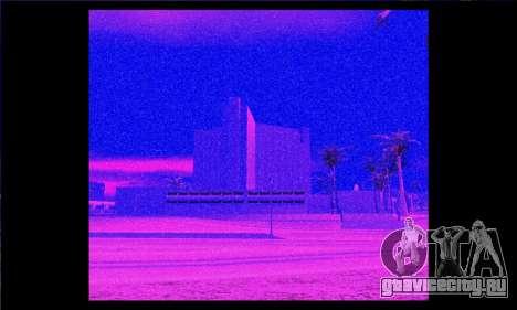 Ночной и тепловой прицел для винтовки. для GTA San Andreas второй скриншот