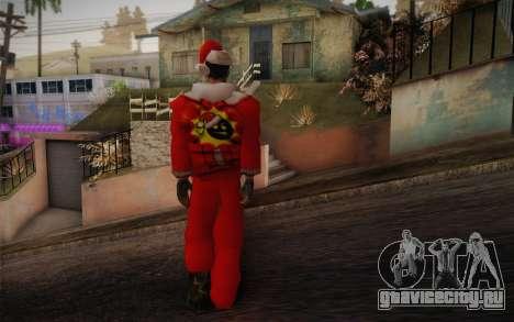 Santa Sam для GTA San Andreas второй скриншот