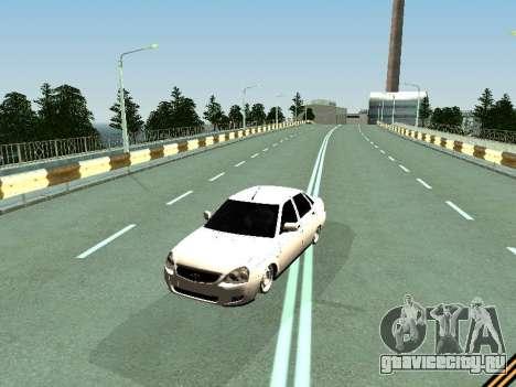 Ваз 2110-2170 для GTA San Andreas вид слева