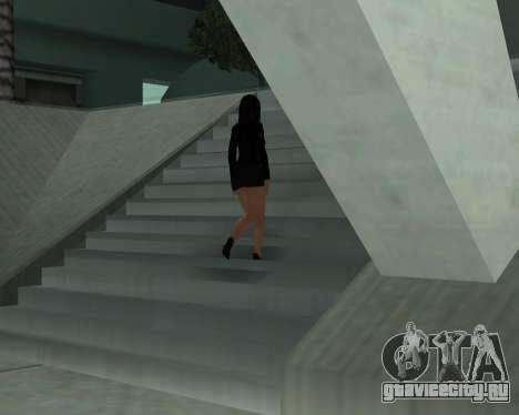 Black Dressed Girl для GTA San Andreas шестой скриншот