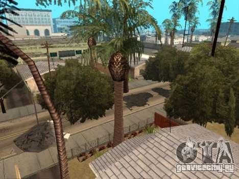 Джунгли на ул. Ацтек для GTA San Andreas второй скриншот