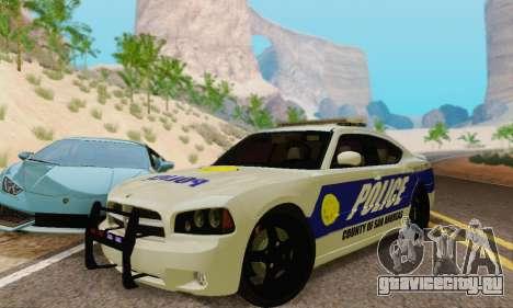 Pursuit Edition Police Dodge Charger SRT8 для GTA San Andreas