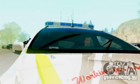 Ford Focus ST 2013 British Hampshire Police для GTA San Andreas вид справа